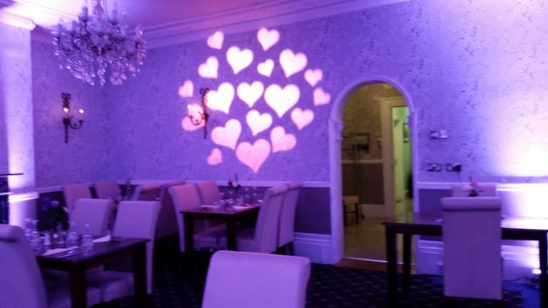 Love Heart Image Projection 1 Joe Smith Entertainments