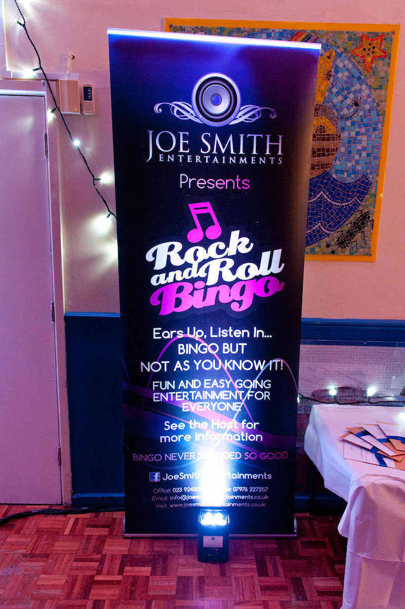 Rock N Roll Bingo 6 Joe Smith Entertainments